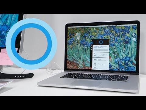Run Cortana on your Mac! (Parallels 11)