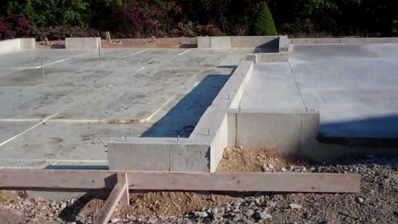 Garage foundation floor dream garage addition by for How much does it cost to have a foundation poured