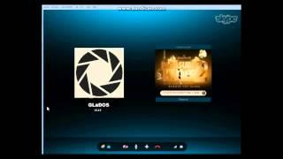 GLaDOS и CatRacer в скайпе кто такая Челл