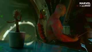 """Escena final y """"Groot bailando"""" - Clip Subtitulado (HD)"""