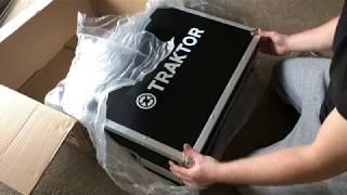 Traktor S4 MK3 Flight Case unpacking/first look video, DJ Real1 IG:Realius1.