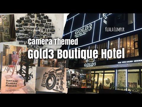 Camera Themed Gold3 Boutique Hotel in Kuala Lumpur, Bukit Bintang
