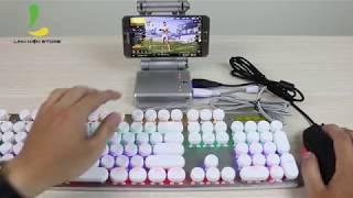Review chi tiết Gamesir X1 battledock - Phụ kiện hỗ trợ chơi game mobile bằng chuột và bàn phím