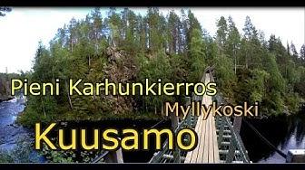 Pieni karhunkierros-Oulangan kansallispuisto-Oulanka National park Myllykoski