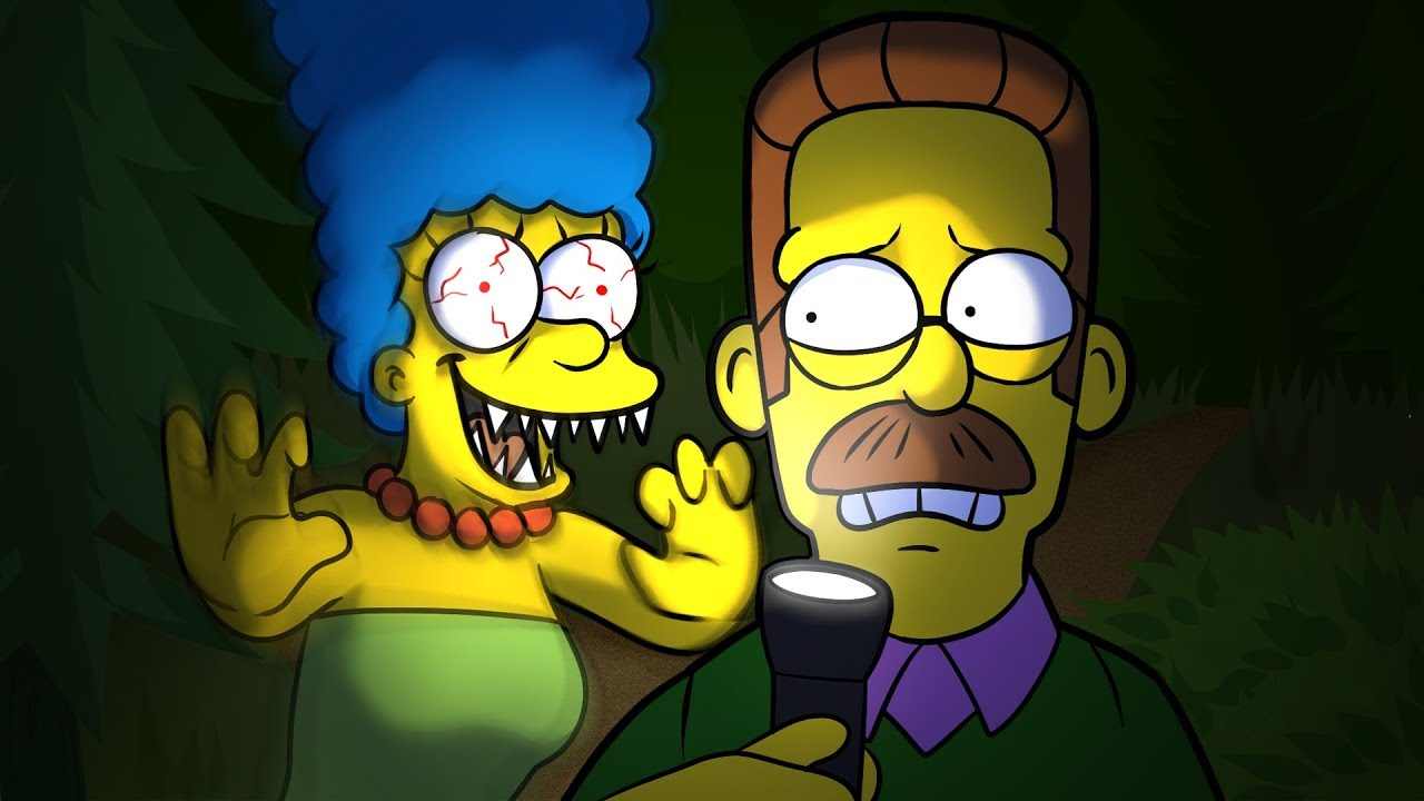 Download EGGS FOR BART IS BACK!   Eggs for Bart Chapter 2: NED FLANDERS (SIMPSONS HORROR GAME)