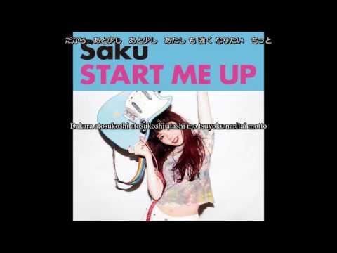 [Kan/Rom/EngSub]Saku - Start me Up - Lyrics
