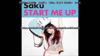 [Kan/Rom/EngSub]Saku - Start me Up - Lyrics