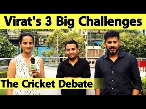 The Cricket debate: What Challenges Await Virat Kohli ?   IndvsWI   Sports Tak
