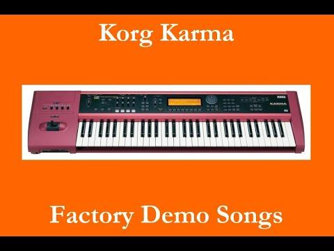 Korg Karma - Démos internes