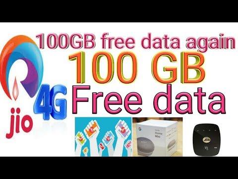 Jio 100 GB data Free free free Free||OMG