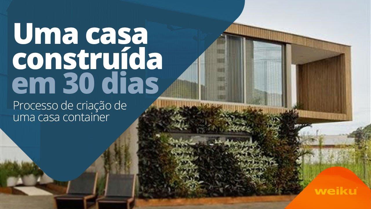 Casa container constru da em 30 dias itajai 2015 youtube - Contenedores usados para vivienda ...