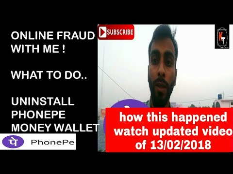 ONLINE MONEY WALLET FRAUD WITH ME..WHAT TO DO...