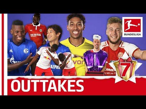 Bundesliga behind-the-scenes - outtakes - bundesliga 2017 advent calendar 7
