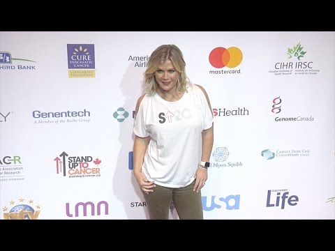 Alison Sweeney 5th Biennial Stand Up To Cancer Red Carpet
