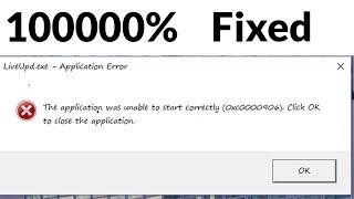 Fixed the 0xc0000906 application error
