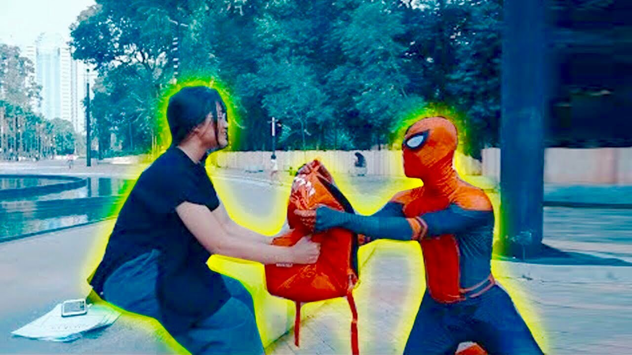 EVERYONE CAN BE A HERO - SPIDERMAN Fight in Real Life
