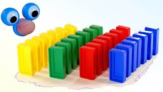 Learn Colors with Colorful Dominoes Toys | Fun Learning Colors for Kids Babies & Toddlers