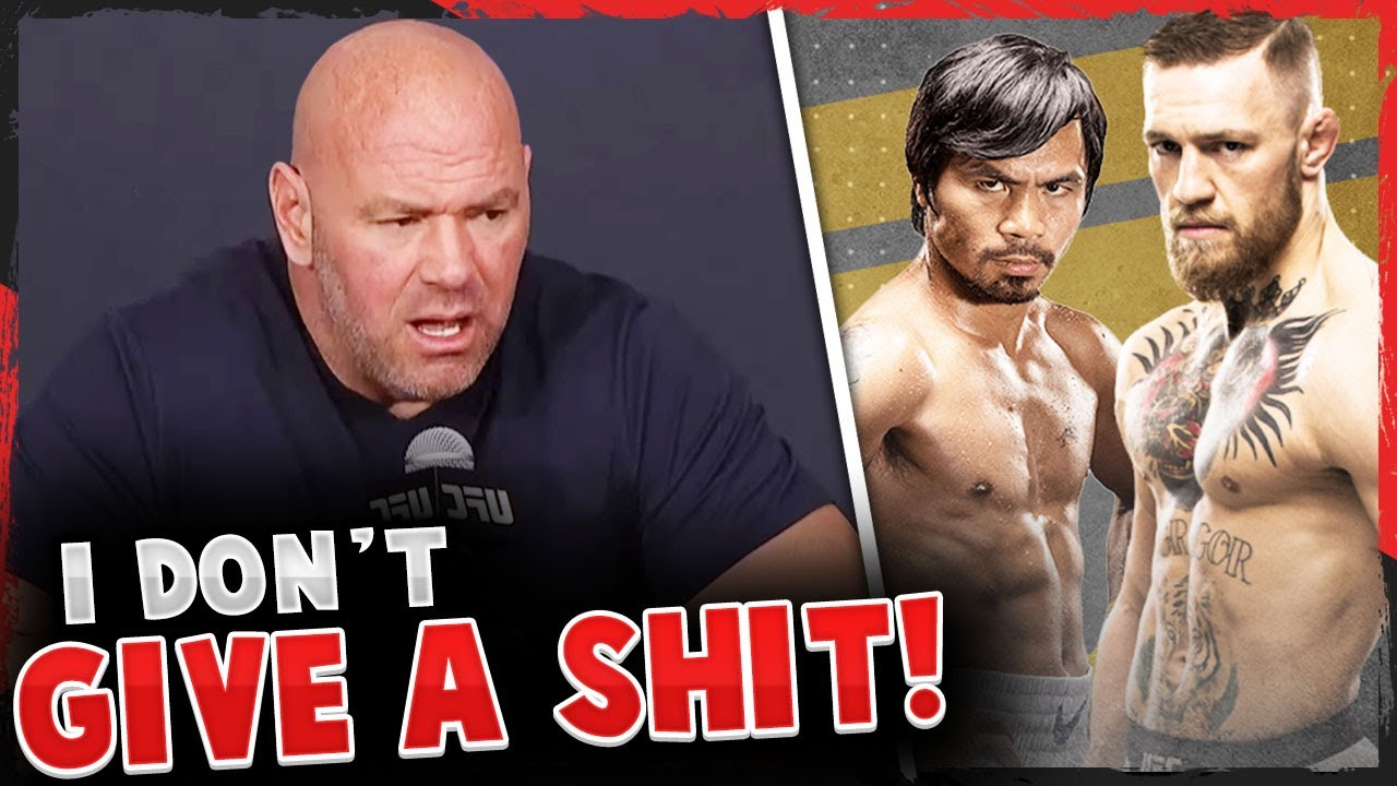 Dana White reacts to Conor McGregor vs Manny Pacquiao rumors, Mike Perry apologizes, UFC Vegas 5