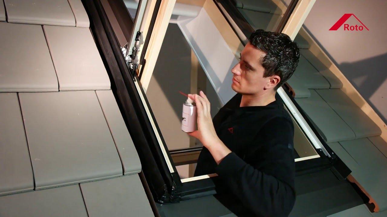 Roto Schwingfenster Wdf R4 ‒ Pflegen 246 Len Schmieren