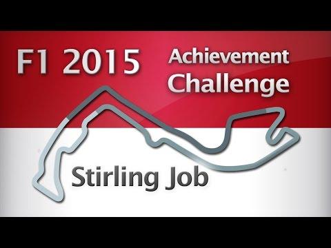 F1 2015 - ACHIEVEMENT CHALLENGE - Stirling Job