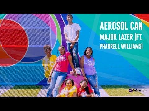 Aerosol Can - Major Lazer Ft. Pharrell Williams Dance Video