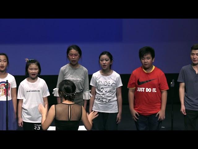 小合唱  高中班團員 《Boogie Wonderland》 (南區少年兒童合唱團)