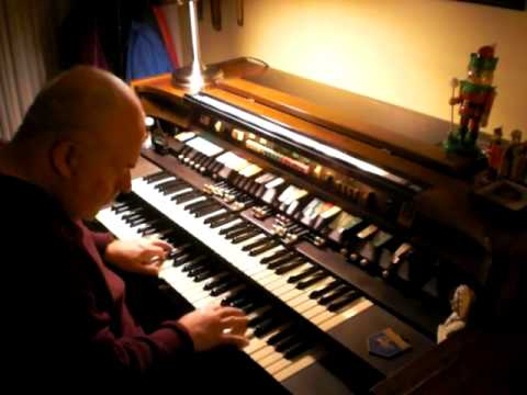 Mike Reed plays three Hymns from the Mother Church, on the Hammond Organ