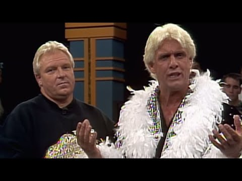 Bobby Heenan brings Ric Flair to WWE: Prime Time Wrestling, Sept. 9, 1991