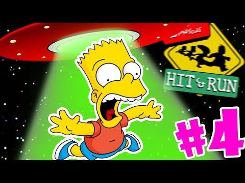 SE HAN LLEVADO A BART 😱👽 !! | Simpsons Hit & Run #4