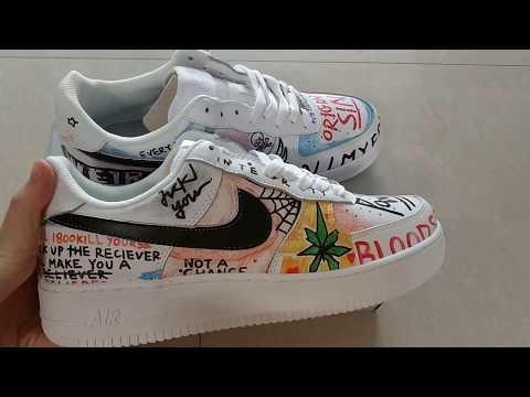 Vlone x Nike Air Force 1 Pauly YouTube