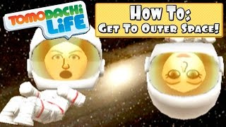 Tomodachi Life 3DS - How To Get To Outer Space + Preview!