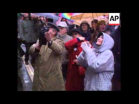 SERBIA: BELGRADE: PROTESTS AS OPPOSITION ELECTION VICTORY IS ANNULLED