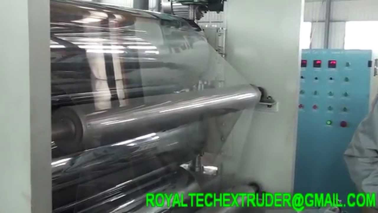 Pvc Sheet Making Machine Youtube