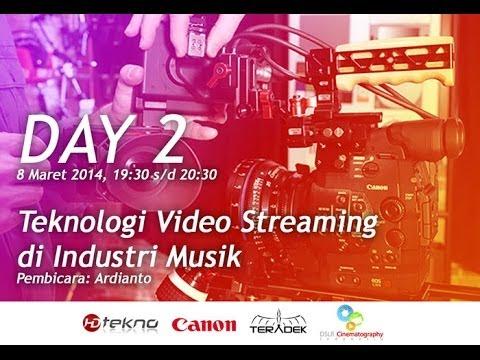 [LIVE HARI 2] Teknologi Video Streaming di Industri Musik