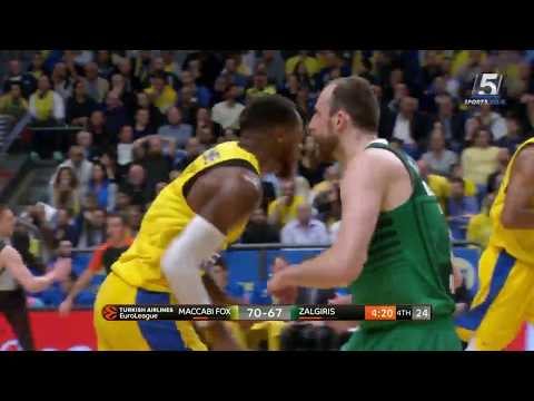 Euroleague Game 10: Maccabi FOX Tel Aviv 81 - Zalgiris Kaunas 74
