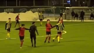 Football -  Gabriel Diaz - Huddinge IF U19 vs Vasalund IF U19  - Ligacupen  - 2018