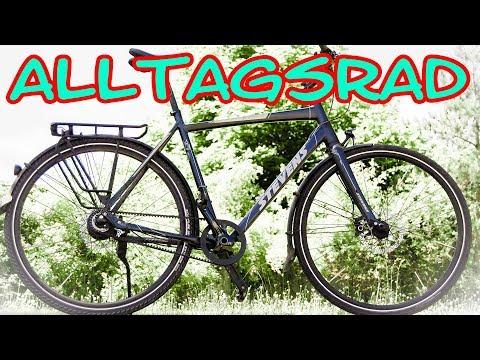 Mein Fahrrad: Alltagsrad Stevens Courier Luxe 2016