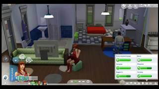 2  Sims 4  Первая свадьба,  семейная жизнь