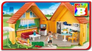 Playmobil Summer fun -   Casuta de Vacanta 6020 set mare. Bogdan`s Show