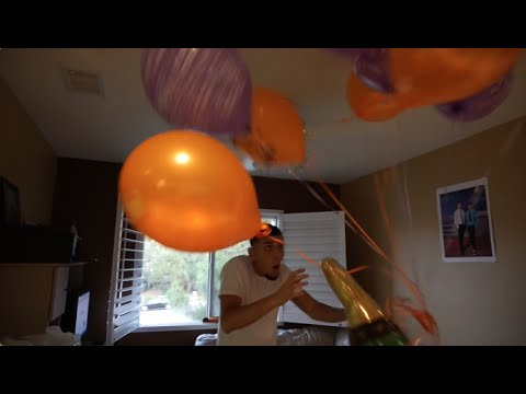 BE CAREFUL WITH THE BALLOONS!! (TOO MUCH FUN W/ BALLOONS)