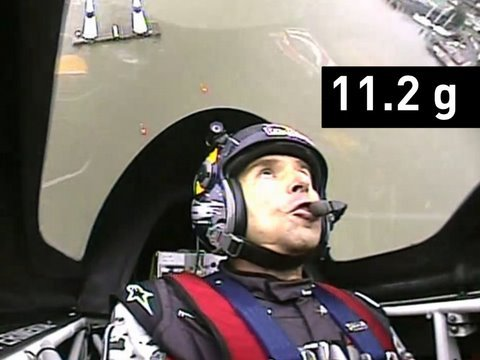 EXTREME FLYING: Pilot Pulls 11.2G! Cockpit View  Red Bull Air Race