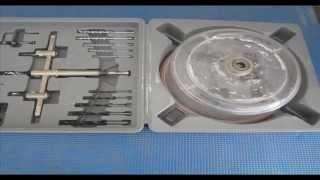 Corona para hacer agujeros en techos de escayola o pladur