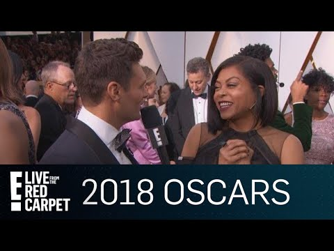 Taraji P. Henson Gushes Over Mary J. Blige at 2018 Oscars  E! Live from the Red Carpet