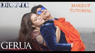 Gerua - Kajol | Dilwale | SRK Kajol Official New Song Video 2015 Inspired Makeup Tutorial