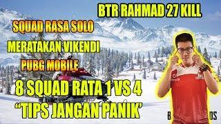 Download Video BTR RAHMAD 27 KILL AWM M4X8 SQUAD RASA SOLO - PUBG MOBILE MP3 3GP MP4