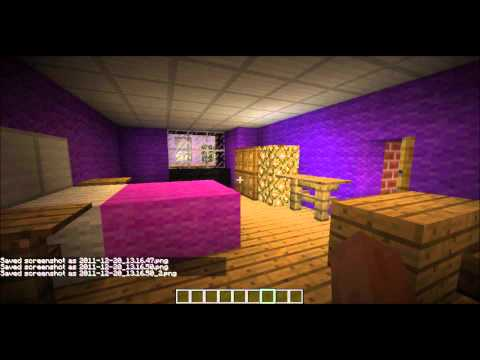 Minecraft Funky Bedroom For Girls