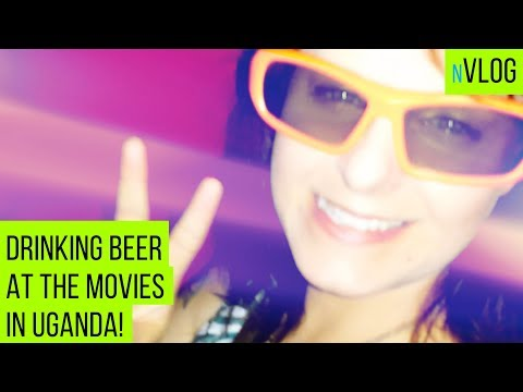 Going to a movie theater in Africa #Uganda #Kampala #Vlog
