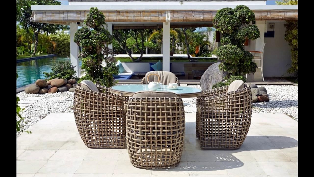 Skyline Designs Luxury Outdoor Furniture - YouTube