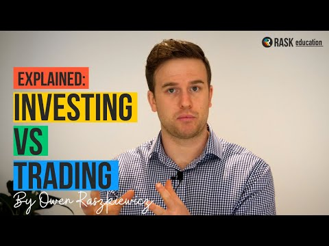 Investing in stocks vs trading shares: A full explainer for ASX investors | Rask