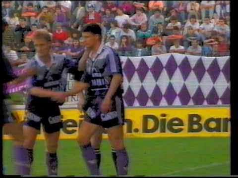 Admira Wacker - Austria Wien 2:2 - Saison 1990/91 - Das Meisterspiel!